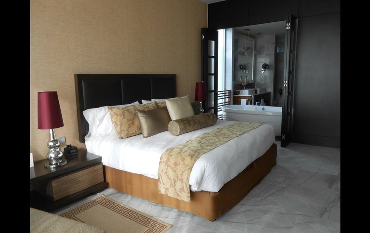 Grand Luxxe Bedroom with a King Mattress